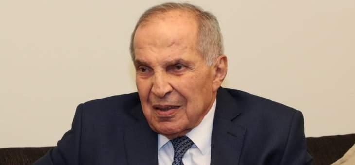 طعمة: لبنان يجتاز مرحلة دراماتيكية هي الأخطر بتاريخه وليست لدينا مطامع وزارية