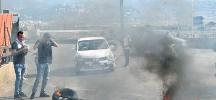 الجيش اللبناني فتح طريق المطار في الاتجاهين