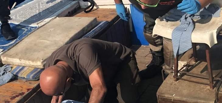 العثور على جثة مصابة بطلق ناري مقابل شاطىء ضبيه