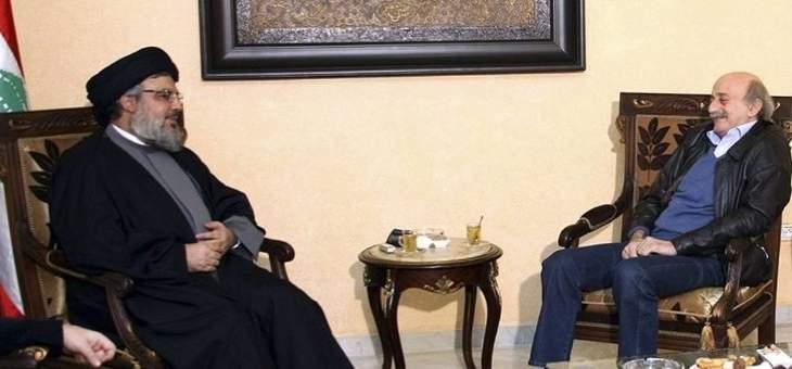 مصالحة حزب الله–التقدمي الاشتراكي تُطبخ عالبارد... الحزب غير مستعجل