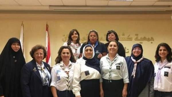 الإتحاد اللبناني للمرشدات والدليلات ينطلق بهيئة إدارية جديدة