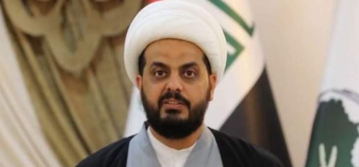 الخزعلي حذّر من مخطط خطير يستهدف الحشد الشعبي في العراق