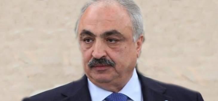 الحجار: لن يكون هناك موقف رسمي للحكومة من هذه زيارة باسيل لسوريا