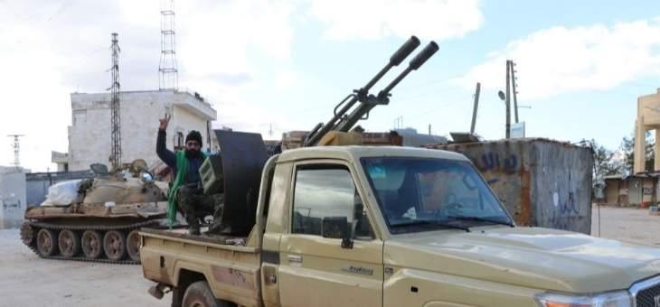 النشرة: الجماعات المسلحة بادلب منعت الاهالي من الخروج عبر ممر ترنبة