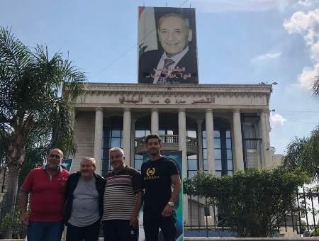 رئيس بلدية صيدا حول ازالة صورة بري: الرئيس خط احمر لا يمكن تجاوزه
