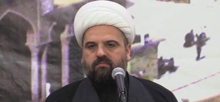 أحمد قبلان استنكر شتم الرموز الدينية: لتوحيد الجهود لإنقاذ البلد من القعر