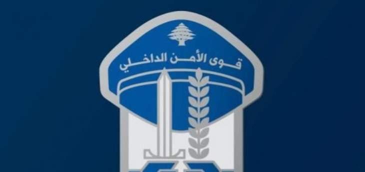 قوى الأمن: توقيف 718 شخصاً بجرائم مختلفة خلال اسبوع