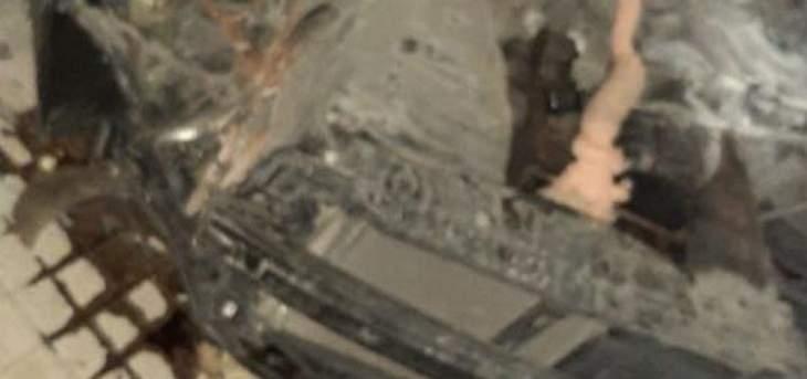 الدفاع المدني سحب جثة مواطنة قضت جراء حادث سير في البربارة