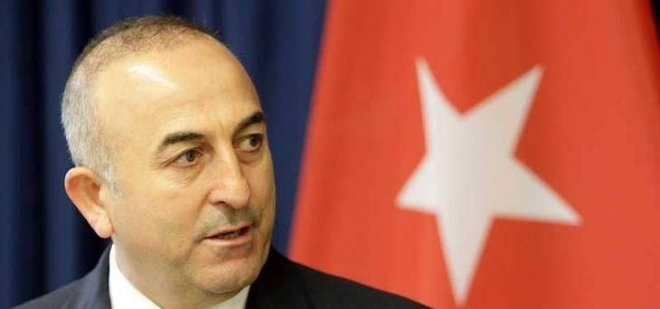 جاويش أوغلو: تركيا تريد ضمان حقوق القبارصة الأتراك