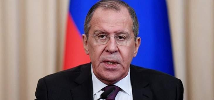 لافروف: موسكو تعارض بشكل قاطع اتهام إيران بالهجوم على ناقلتي النفط بدون أي دليل