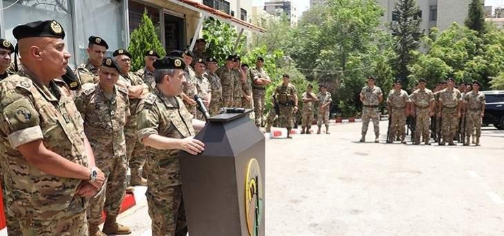 رئيس الأركان للعسكريين: سنرعى حقوقكم وحقوق عائلاتكم ولن نتخلى عنكم