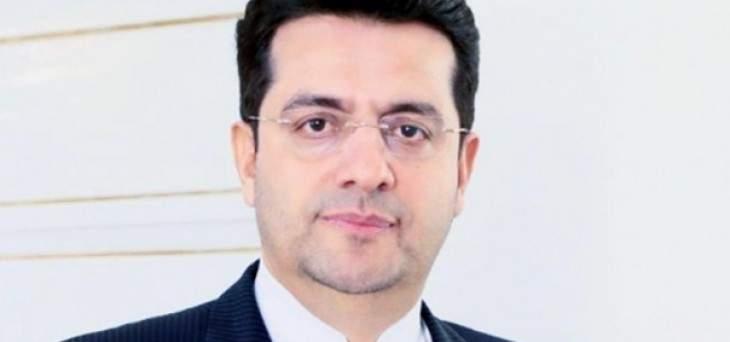 مسؤول إيراني: نرد الدبلوماسية بالدبلوماسية وعلى الحرب بالدفاع