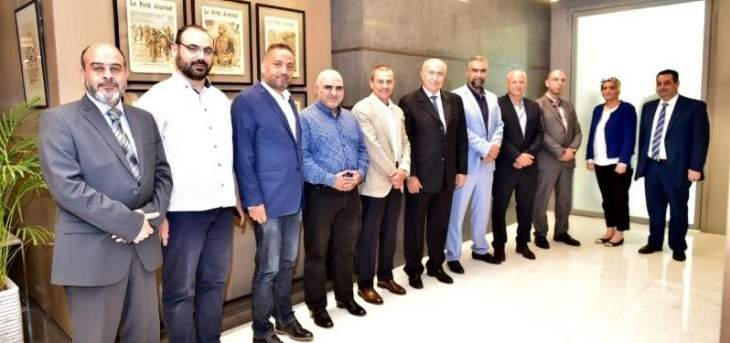 مخزومي إستقبل وفد رجال أعمال وفاعليات طرابلسية