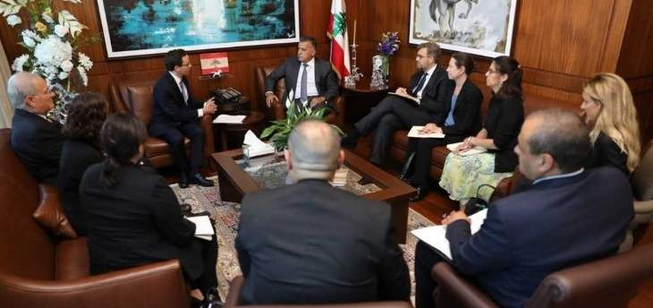 اللواء إبراهيم التقى وفدا من Syria Study Group مستعرضا أوضاع النازحين