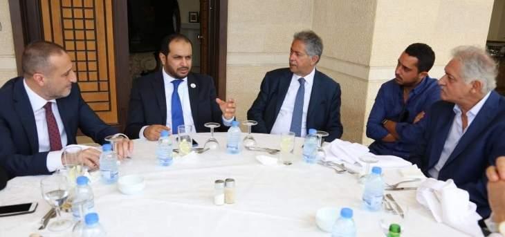 رئيس بلدية بحمدون للسفير الإماراتي: لبنان سيبقى بشعبه وأرضه وفيا لكم قيادة وشعباً