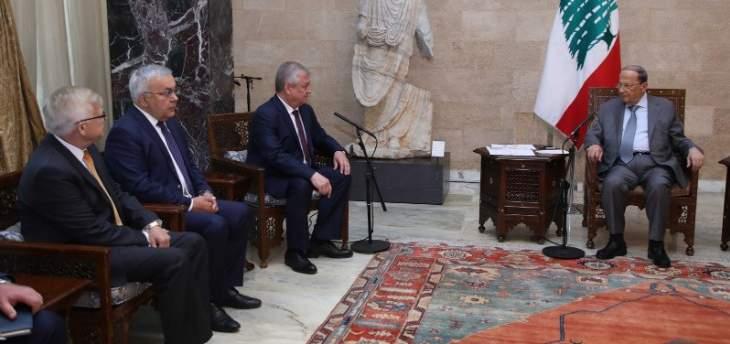 مصادر الـOTV: الرئيس عون أكد للافرينتييف أهمية الدعم الروسي لتحقيق عودة النازحين