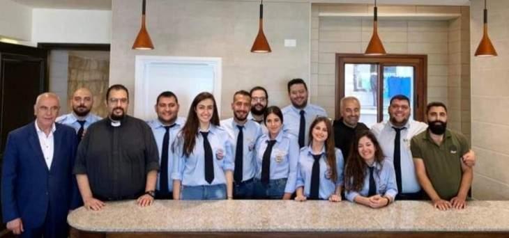 لجنة إقليمية جديدة لأخويات شبيبة العذراء في زحلة
