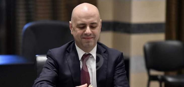 حاصباني: لخطة متكاملة لجلب الاستثمارات الخارجية الى لبنان