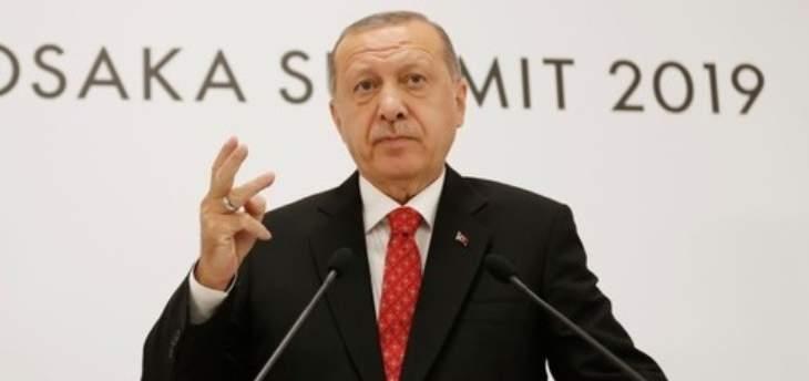"""اردوغان: لمحاسبة المتورطين بقتل خاشقجي ولا عقوبات أميركية على تركيا بشأن """"S-400"""""""