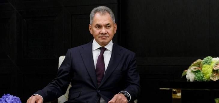 سيرغي شويغو: مستعدون لتعزيز القدرات الدفاعية المصرية