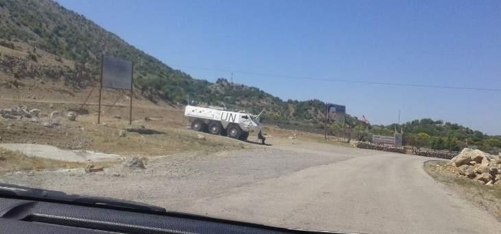 النشرة: قوة اسرائيلية تفقدت الطريق العسكري المحاذي للسياج الحدودي