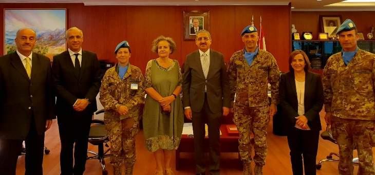 لقاء تنسيقي بين الجامعة اللبنانية وجامعة مسسينا الإيطالية.