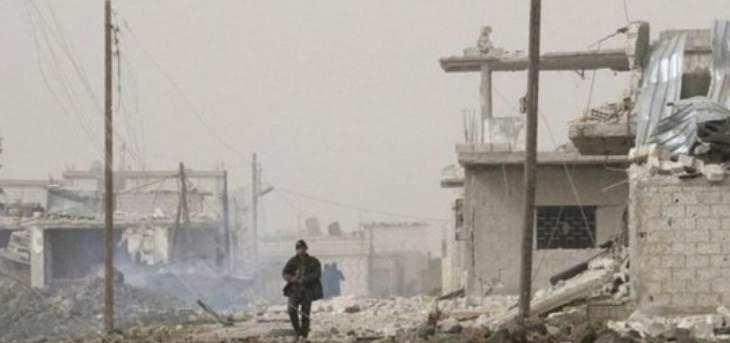 النشرة: مجهولون هاجموا مقر المخابرات الجوية بريف درعا