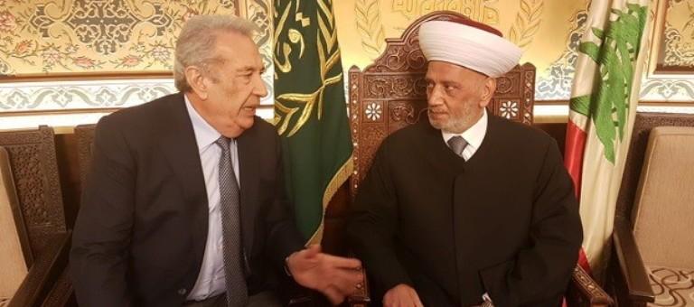 Image result for الحريري والمفتي