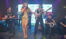 """مايا دياب باطلالة ذهبية مثيرة في احتفال """"كن هادي"""" .. بالصور"""