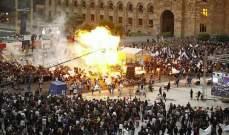 حفل غنائي يتحول إلى حريق يلتهم 140 شخصاً