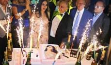 بالصور: النجوم يحتفلون بعيد ليال عبود