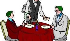 الاعلامي يدعو اصدقاءه للعشاء ولا يدفع !