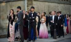 """بالفيديو.. هكذا احتفل طلاب جامعة """"كامبريدج"""" بنهاية الامتحانات"""