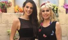ملكة جمال لبنان تستعين بالليدي مادونا في مسابقة ملكة جمال العالم..بالصورة
