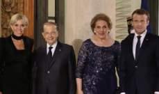 الأناقة اللبنانية تخطف الأضواء في لقاء بريجيت ماكرون وناديا عون