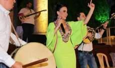 ليال عبود تحيي ليلة لا تنسى في شمال لبنان ..بالصور