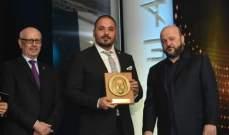 ملحم رياشي ورامي عياش مكرّمان بإستحقاق .. وينقلان صورة لبنان المشرقة