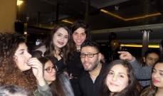 مفاجأة خاصة لـ زياد برجي في عيد ميلاده..بالصور