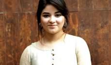 ممثلة هندية تتعرض للتحرش على متن طائرة