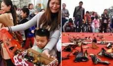 بالصور- مقتل مئات الفراشات يحوّل إحتفالاً في الصين إلى كارثة
