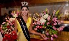 تيفاني تيريزا  ملكة جمال لبنان المغترب للعام 2017