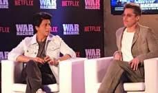 براد بيت يجتمع بشاروخان ويرفض السينما الهندية
