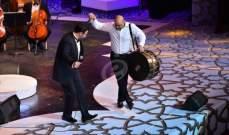 خاص بالصور- عاصي الحلاني في دار الأوبرا المصرية: تفاعل وحماس ورقص