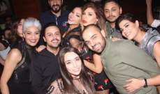 بالصور- ريم الشريف تحتفل بعيد ميلادها بإطلالة انيقة