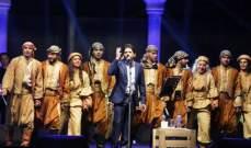 معين شريف يحيي الجيش اللبناني في افتتاح مهرجان كاسكادا بـ تعنايل