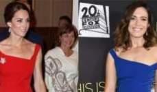 ماندي مور او كايت ميدلتون بهذا الفستان الجميل؟