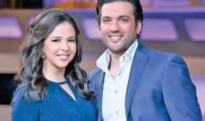 حسن الرداد وإيمي سمير غانم بإطلالة غريبة على الملصق الدعائي لمسلسلهما