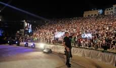 عمر العبداللات يلتقي بجمهوره الكبير في فلسطين..بالصور