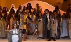 """أوبرا لبنان تكرم نجوم """"عنتر وعبلة"""" بحضور وزير الثقافة ووفد من اوبرا القاهرة"""