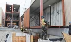 منازل من حاويات الشحن المعدنية لحل أزمة السكن في القاهرة